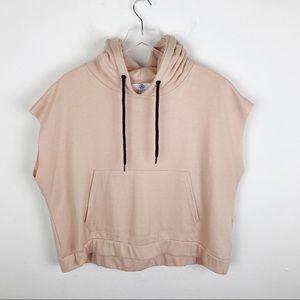 Misguided Blush Pink Sleeveless Sweatshirt 18